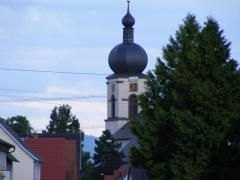 Spire of Sts. Cyprian and Justina Church