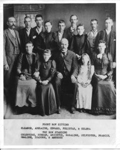 Edward Farabaugh Family ca 1895