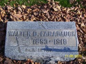 Walter D. Farabaugh Tombstone