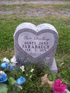 Agnes Jane Farabaugh Tombstone